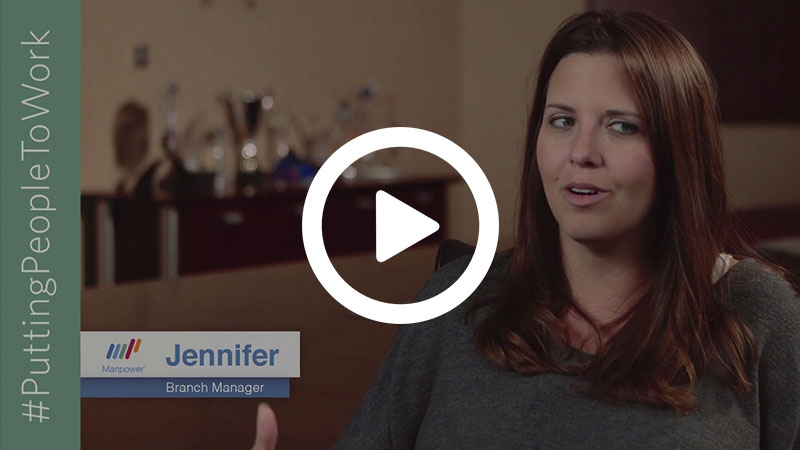 Meet Manpower Associate Jennifer