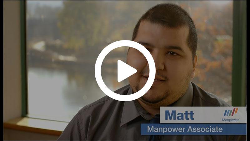 Meet Manpower Associate Matt